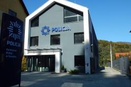 Budynek komendy policji w Szczyrku